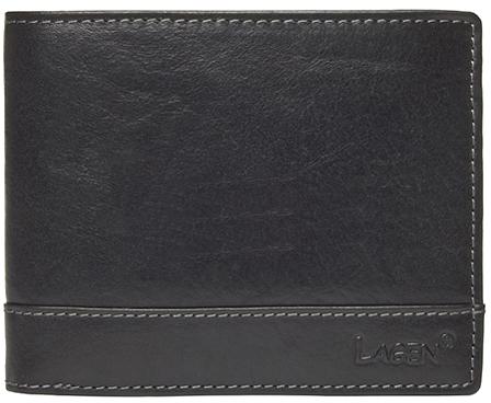 Lagen Pánska kožená peňaženka 1996/t Black