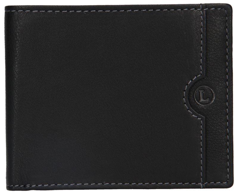Lagen Pánska kožená peňaženka blc/4231/219 Black