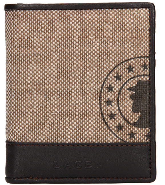 Lagen Pánska peňaženka 50449 L. Beige /D.Brn