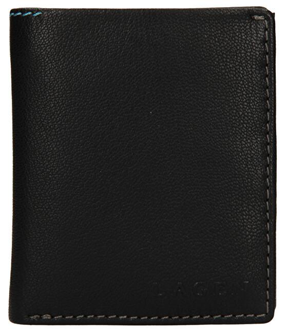 Lagen Pánska kožená peňaženka TP-071 Black