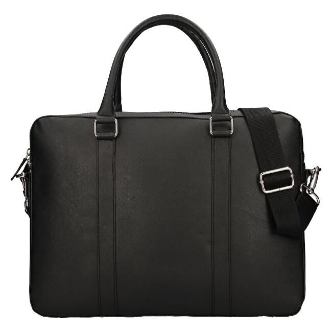 Lagen Pánska kožená taška na notebook porter business