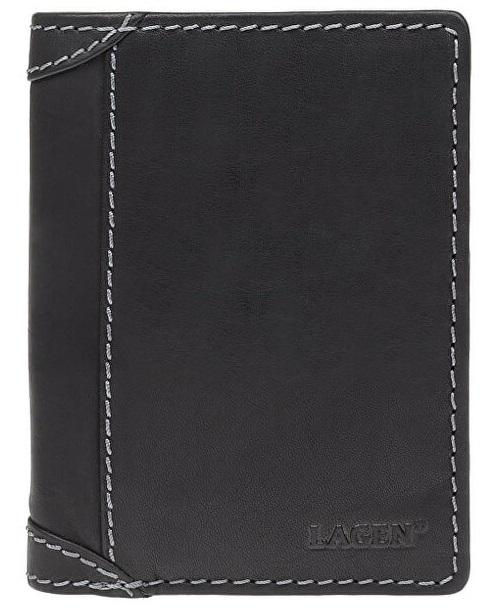 Lagen Pánska peňaženka 51146 Black