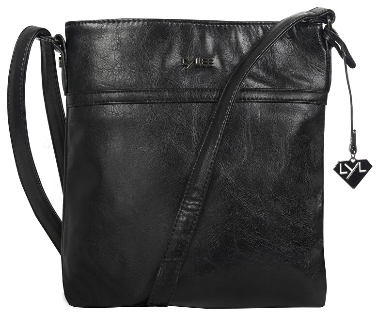 LYLEE Elegantní kabelka April Crossover Bag Black