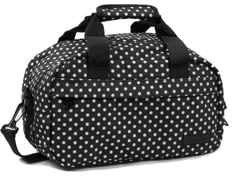 Member\'s Cestovní taška 20L SB-0043 černá/bílá Member's