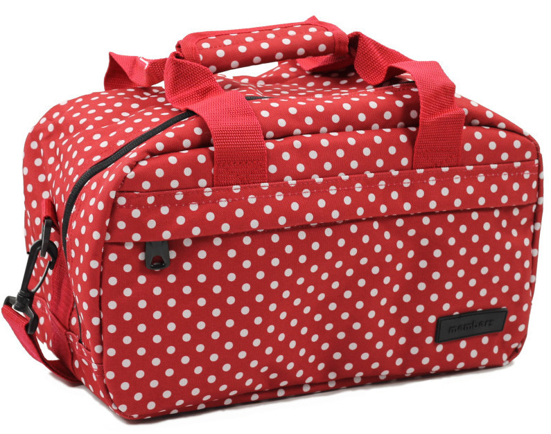 Member\'s Cestovní taška 20L SB-0043 červená/bílá Member's