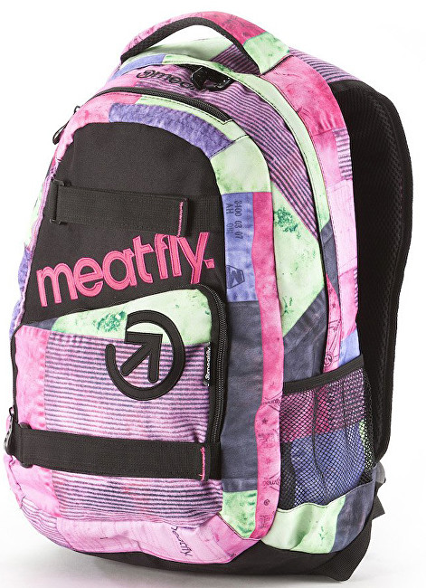 Meatfly Batoh Exile Backpack E Aftermath Pink
