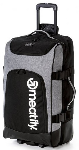 Carcasă de călătorie Contin 2 Trolley Bag A-Black, Heather Grey