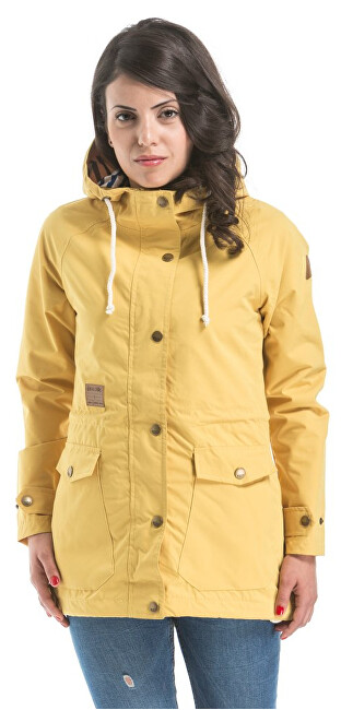 Meatfly Dámská bunda Victory Windbreaker B Yellow XS