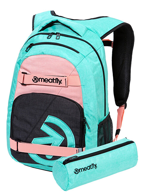 Meatfly Batoh Exile 5 G-Heather Mint, Pink