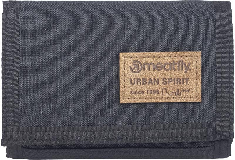 Meatfly Pánska peňaženka DEWEY Charcoal Heather