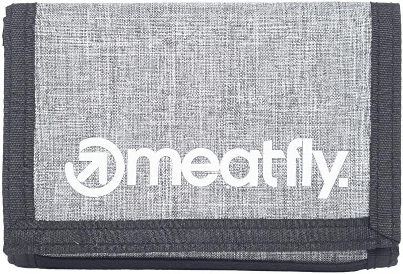 Meatfly Pánska peňaženka Huey B-Heather Grey, Grey