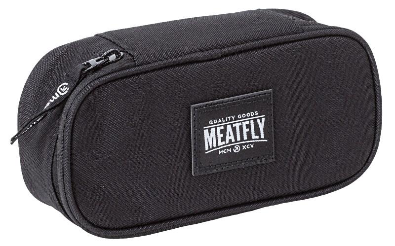 Meatfly Penál Pencil Case 2 A-Black