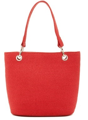 Magid Dámská taška Paper Straw Shopper Tote Red