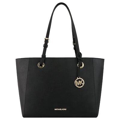 Michael Kors Dámska kožená kabelka Tote Handbag 192877121367 Black