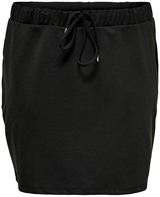 ONLY CARMAKOMA Dámská sukně CARPEVER 15229308 Black 5XL/6XL