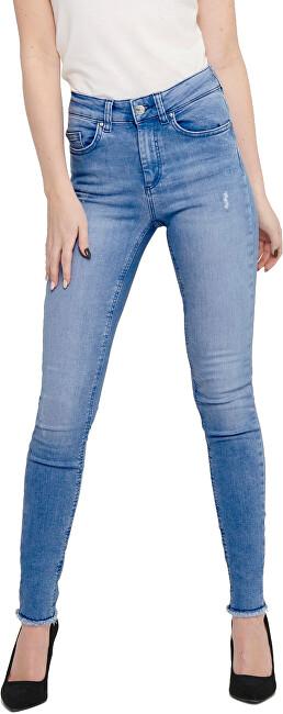 Levně ONLY Dámské skinny džíny ONLBLUSH 15178061 Light Blue Denim XS/30