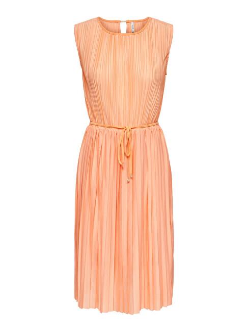 ONLY Dámske šaty ONLELEMA 15227246 Coral Sands XS