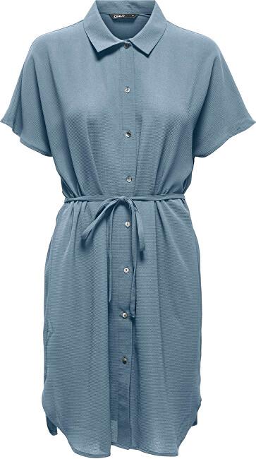 ONLY Dámske šaty ONLNOVA LIFE 15232564 Blue Fog 36