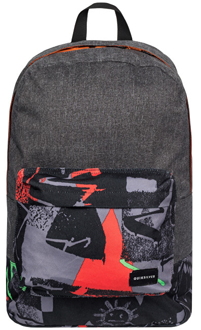 Quiksilver Night Track Pri M Bkpk Bp Labyrinth Green Deck 16l