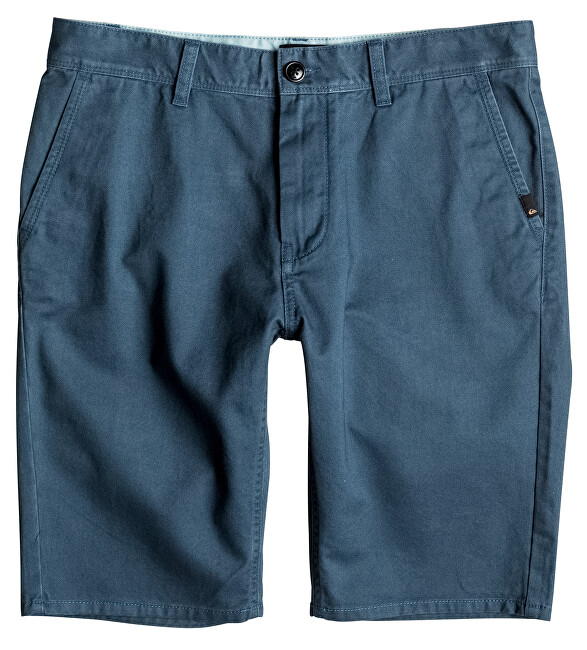 Quiksilver Pánské kraťasy Everyday Chino Short Indian Teal EQYWS03252-BQK0 31
