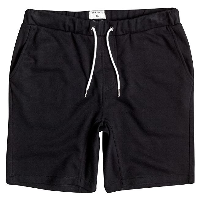 Quiksilver Pánské šortky Everyday Fonic Fleece Short Black EQYFB03064-KVJ0 M