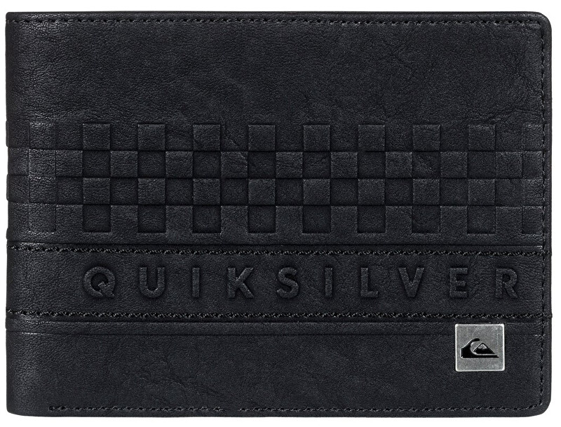 Quiksilver Peněženka Everyday Stripe Wallet II Black EQYAA03640-KVJ0