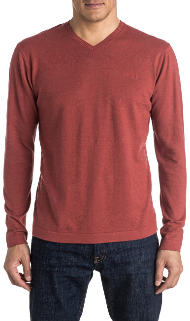 Quiksilver Svetr Everyday Kelvin V Barn Red