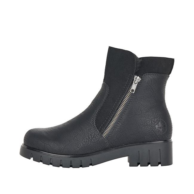 Rieker Dámske členkové topánky X2681-00 36