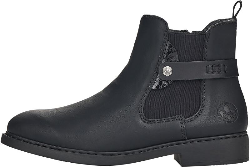 Rieker Dámske členkové topánky Z6161-00 36
