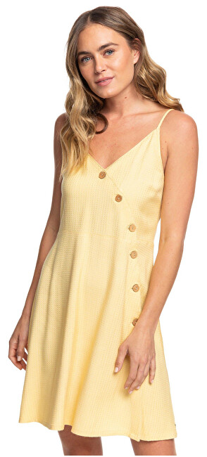 Roxy Dámske šaty Sun May Shine Sahara Sun ERJWD03422-YGD0 S
