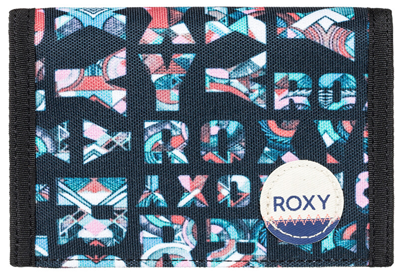 Roxy Peněženka Beach Glass Anthracite Small Urb ERJAA03308-XKBM