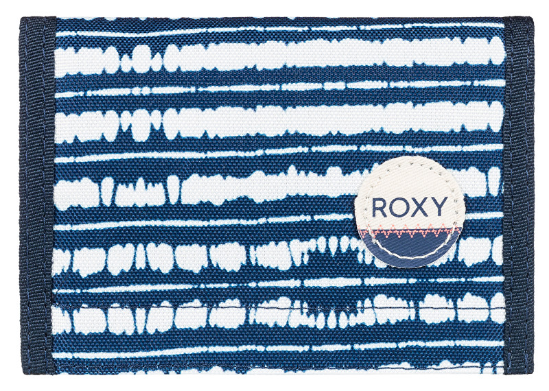 Roxy Peněženka Beach Glass Blue Depths Olmeque Stripe ERJAA03277-BTA3