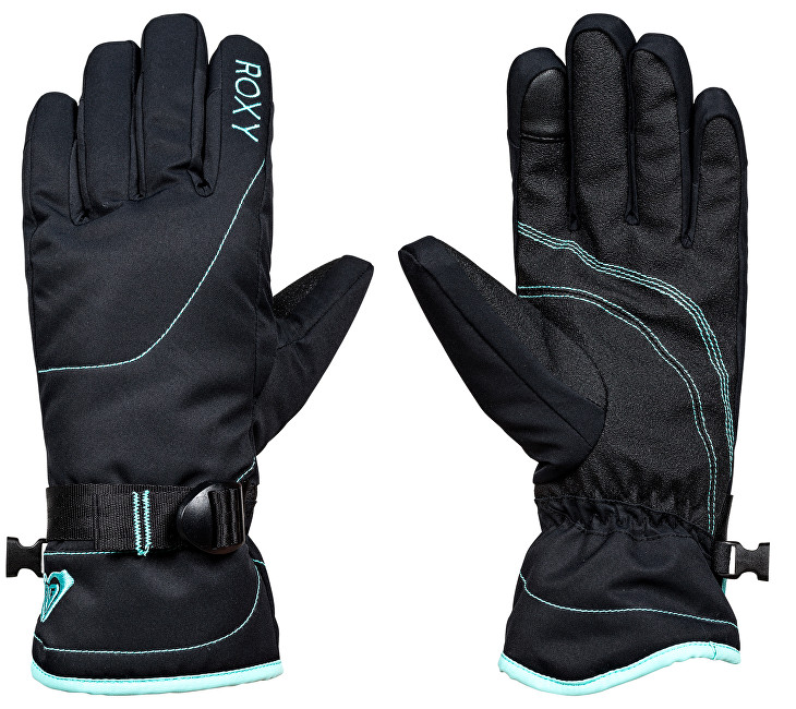Roxy Zimní rukavice Rx Jetty Solid Gloves True Black ERJHN03070-KVJ0 S