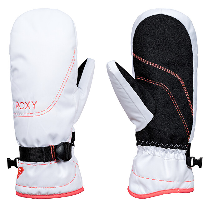Roxy Zimní rukavice Rx Jetty Solid Mitt Bright White ERJHN03071-WBB0 L