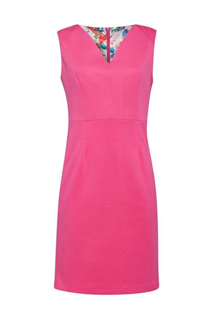 Smashed Lemon Dámske šaty 19231 Pink XS