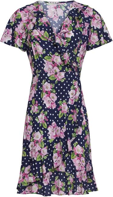 Smashed Lemon Dámske šaty 20102 Navy / Pink S