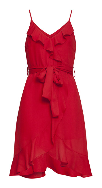Smashed Lemon Dámske šaty 20250 Red XL