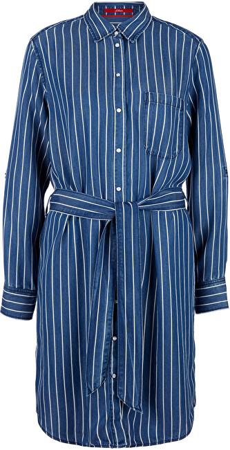 s.Oliver Dámske šaty 14.003.82.4038.57G0 Stoker blue stripe 40