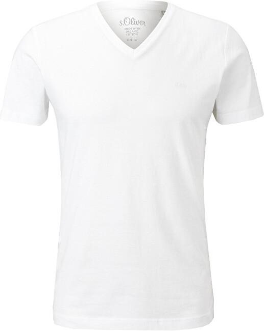 Levně s.Oliver Pánské triko Slim Fit 13.104.32.X392.0100 XXL