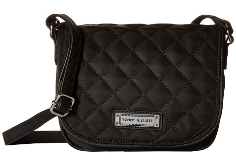 Tommy Hilfiger Dámská crossbody kabelka Womens Josephine II Saddle Bag Black