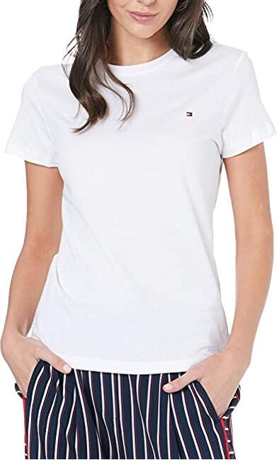 Tommy Hilfiger Dámske tričko WW0WW22043-100 XXL