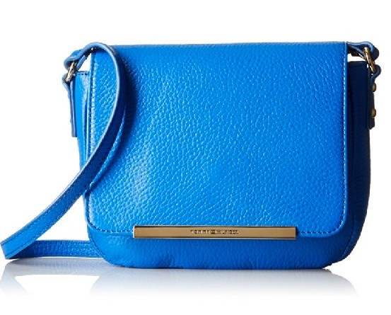 Tommy Hilfiger Elegantní kabelka Jamie Pebble Leather Flap Crossbody