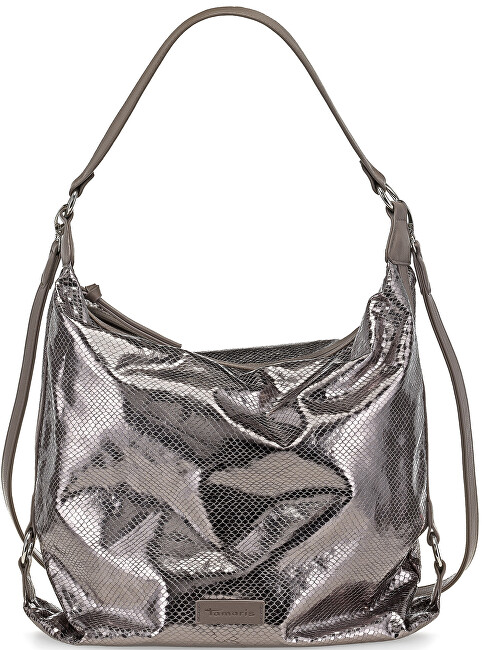 Tamaris Elegantní business kabelka Matilda Hobo Bag Pewter Comb 1347161-917