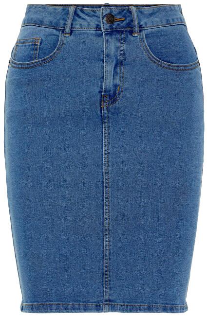 Vero Moda Dámská sukně VMHOT NINE HW DNM PENCIL SKIRT NOOS CI Medium Blue Denim XS Vero Moda