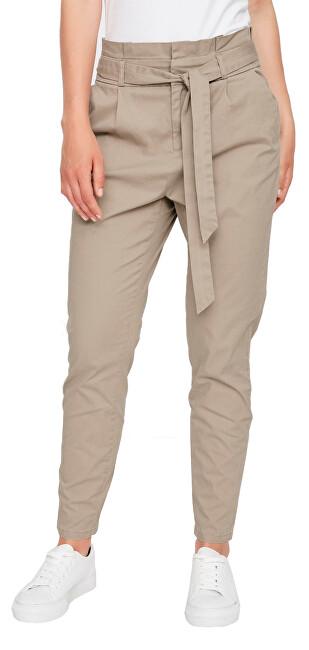 Vero Moda Dámske nohavice VMEVA 10216704 Silver Mink XS/32