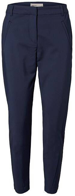Vero Moda Dámske nohavice VMVICTORIA NW ANTIFIT ANKLE PANTS NOOS Navy Blazer XS/30
