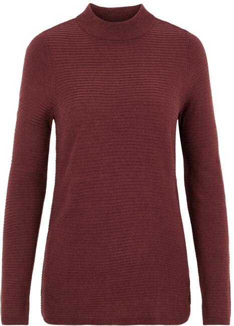 Vero Moda Dámsky sveter VMBOBBIE LS Highneck Blouse COLOR Port Royale XS