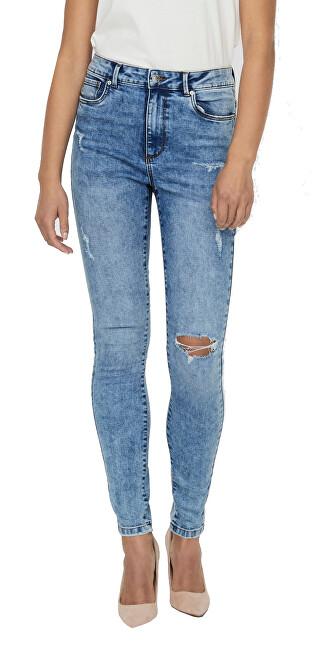 Vero Moda Dámske džínsy VMSOPHIA HR SKINNY JEANS VI3108 GA 10243952 Medium Blue Denim S/32