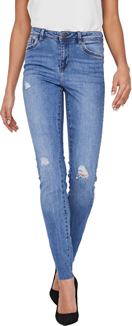 Vero Moda Dámske džínsy VMTANYA Skinny Fit 10228784 Medium Blue Denim S/30