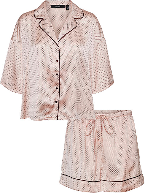 Vero Moda Dámske pyžamo VMBEATE 10254127 Misty Rose XS